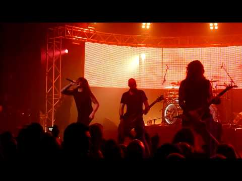 Channel Zero + Phil Demmel ( Machine Head) - Raining Blood - AB Brussels 14.01.2011