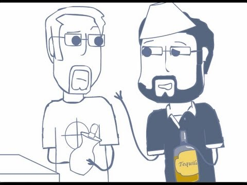 Rooster Teeth Animated Adventure Drunk Burnie