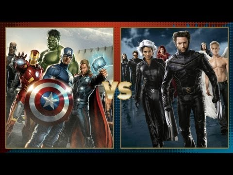 The Avengers vs X Men: Fanboy Faceoff
