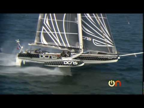 Always On - Flying on the world s fastest sailboat