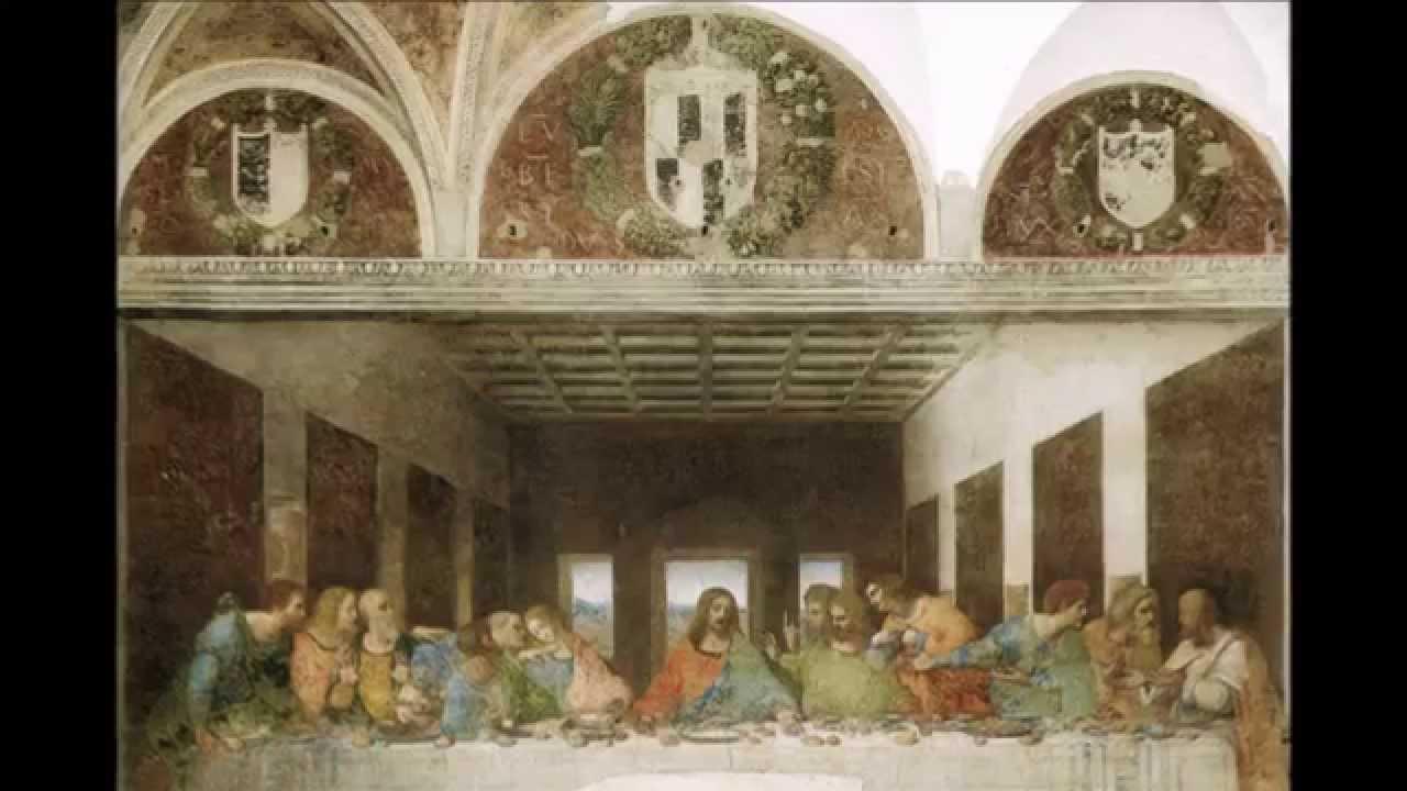 Ultima Cena ( Cenacolo) 1494-1498 Leonardo da Vinci