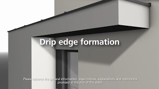 How to apply the base coat and reinforcing mesh at drip egdes - Installation of thermal insulation