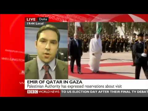 RUSI's Michael Stephens with the BBC on the Emir of Qatar's visit to Gaza
