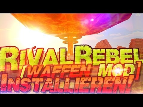  Rival Rebels Minecraft Waffen Mod 1.6.4  Installation Tutorial | German Deutsch | Mac Windows