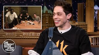 Download Song Pete Davidson Got Stuck Paying for Kid Cudi's Birthday Dinner When Kanye West Crashed Free StafaMp3