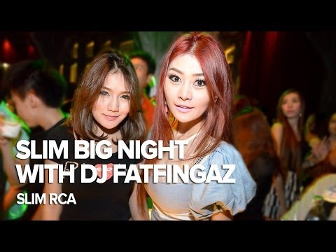 DJ FATFINGAZ at Slim RCA Bangkok