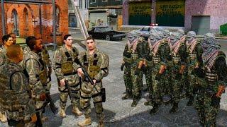 USA ARMY VS TERRORIST ARMY (MODERN WARFARE)