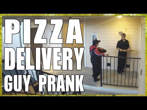 Pizza Delivery Guy Prank!