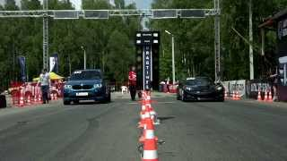 BMW X5M F85 Evotech vs Chevrolet Corvette ZR1 30-31.05.015 Unlim 500+