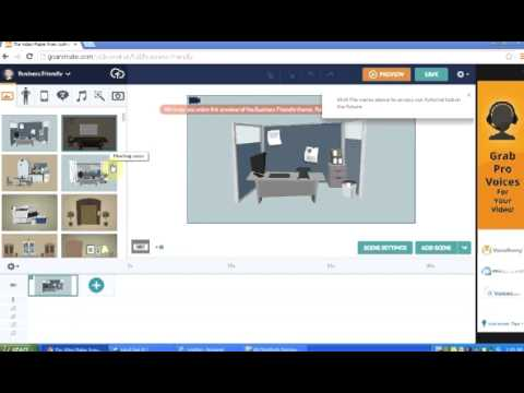How to create a cartoon video with goanimate.com online software