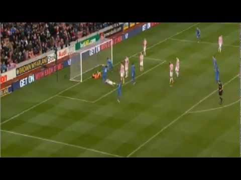 stoke vs chelsea  0 : 4 | Sensation occurred J.Walters 2 auto-goal and unused penalty kick.