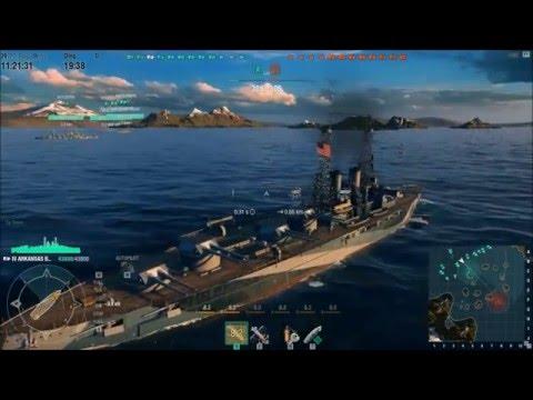 world of warships BB Arkansas Beta