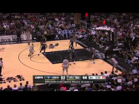 NBA Memphis Grizzlies Vs San Antonio Spurs - Game 2 | 21th May 2013 | Western Conference Finals 2013