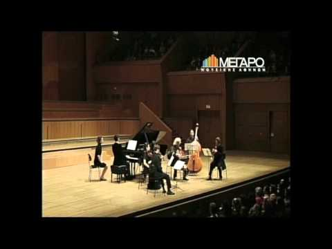 Saint-Saëns: Septet for piano, trumpet & strings Op 65, complete