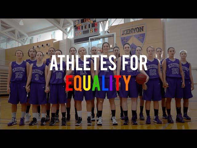 Kenyon College: Athletes For Equality