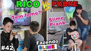 RICO VS POBRE FAZENDO AMOEBA / SLIME #42