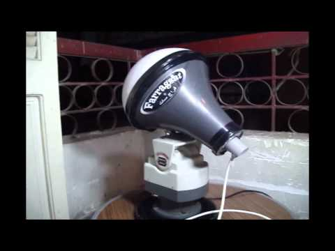 Lens Horn Satellite antenna ( New Manual Tracking antenna ) By Farragsat - 2011