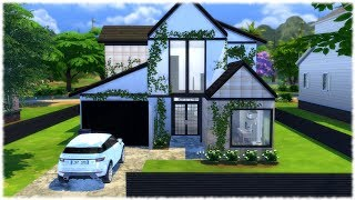 The Sims 4: Speed Build // Modern Family Home + CC Links