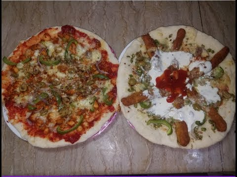 Kabab Chaska and Chicken Spicy Pizza recipe