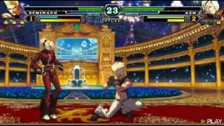 THE KING OF FIGHTERS i 2012 JAPAN Team VS Boss play video
