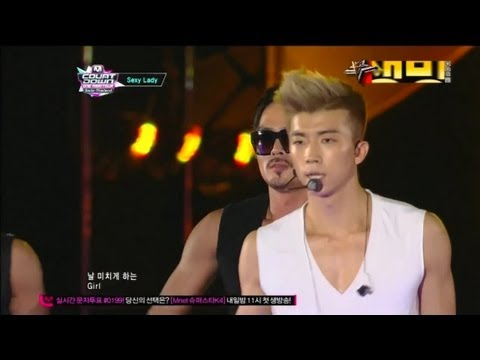 장우영_ Sexy Lady (Sexy Lady by JANG WOO YOUNG @Global Mcountdown 2012.10.11)
