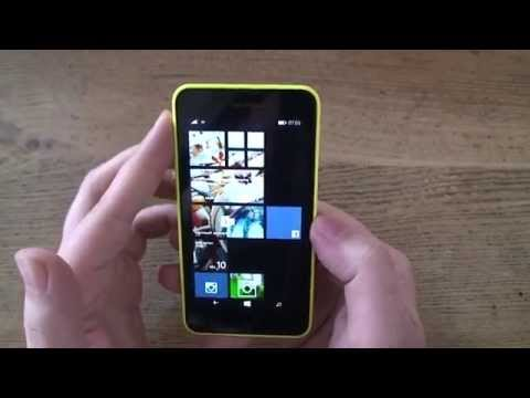 Nokia Lumia 630 Windows Smartphone Hands On Test - Deutsch / German ►► notebooksbilliger.de