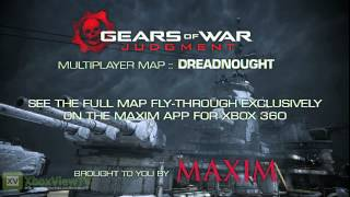 Gears of War: Judgment | Dreadnought Multiplayer Map Teaser [EN] (2013) | FULL HD