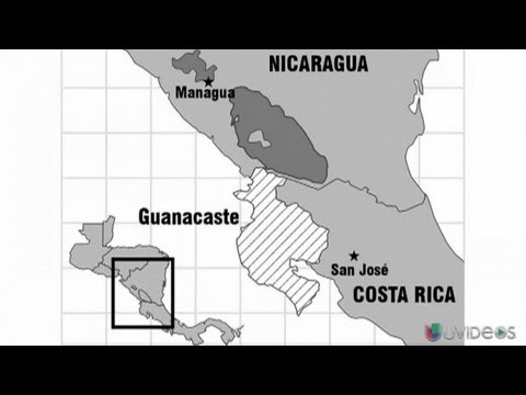 Nicaragua y Costa Rica en conflicto territorial - UVideos