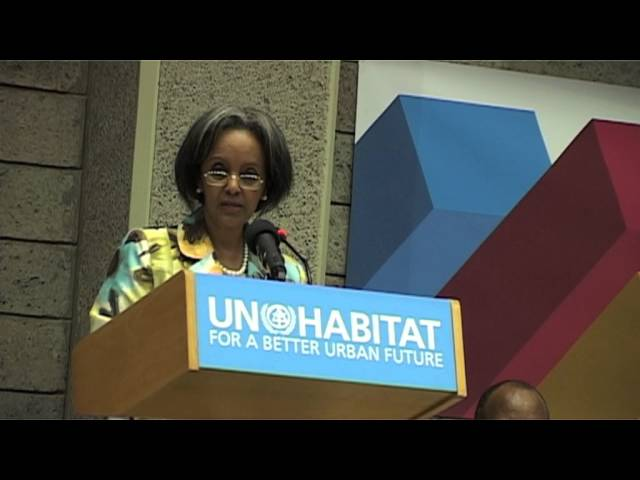 Message from UN SG, Mr. Banki Moon as read by UNON  DG Sahle-Work Zewde
