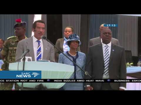 Botswana President Ian Khama steps down on Saturday