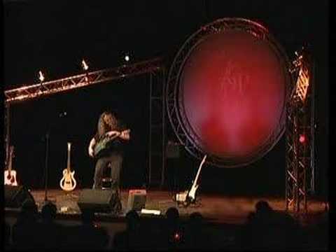 Preston Reed performing Rainmaker