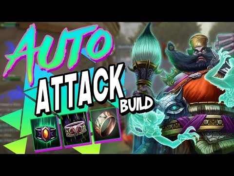 Smite: SEASON 5 Zhong Kui ATTACK SPEED BUILD - NEW ATTACK SPEED ITEMS!