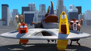 LARVA - ROAD RAGE | Cartoon Movie | Cartoons For Children | Larva Cartoon | LARVA Official