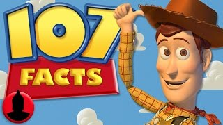 107 Toy Story Facts YOU Should Know - (ToonedUp #106) @ChannelFred