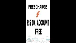 FREECHARGE LOOT OFFER PAR ACCOUNT 10 RUPEES