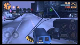 GTA3 10주년 기념작 (Grand Theft Auto3 iOS) 미션5 - 경찰관 파티