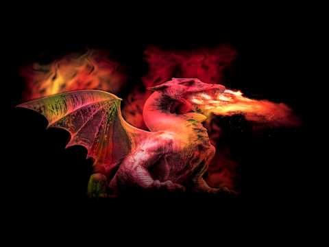 Dragon Breathing Fire Sound Fire-breathing Dragon Sound