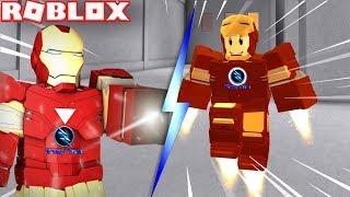 ROBLOX | Được Ông Tony Stark Tặng Bộ Giáp Iron Man Siêu Ngầu | Iron Man Battles | Vamy Trần