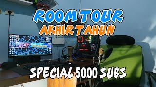 ALGA-TECH ROOM TOUR AKHIR TAHUN 2018 [SPECIAL 5000 SUBSCRIBER]