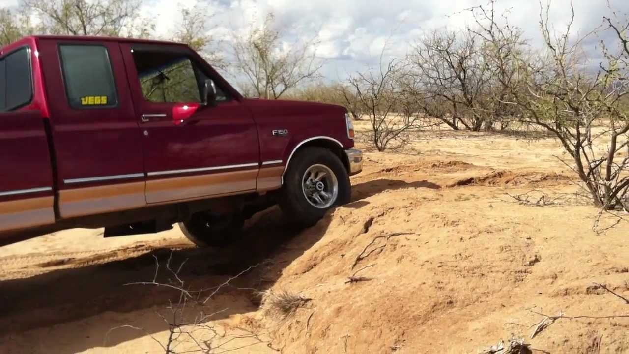 94 F150 Off Road 2x4 In A 4x4 Youtube