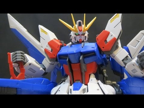 MG Build Strike Gundam (3: MS&V) Build Fighters Full Package plastic model review ガンプラ