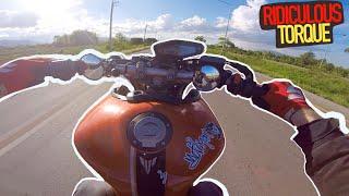 TOO MUCH POWER!!! | Yamaha MT09 Wheelie Practice