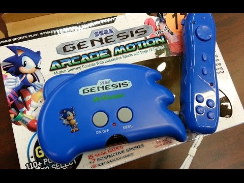 Classic Game Room - SEGA GENESIS ARCADE MOTION console review
