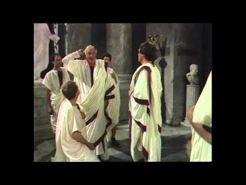 Caesar's Death Scene - Julius Caesar (Keith Michell)