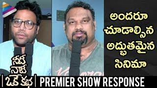 Needi Naadi Oke Katha Premier Show Response | Sree Vishnu | Satna Titus | #NNOK | Telugu FilmNagar