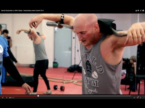 Natural Bodybuilder vs MMA Fighter - Bodybuilding meets Crossfit Teil 3 Image 1