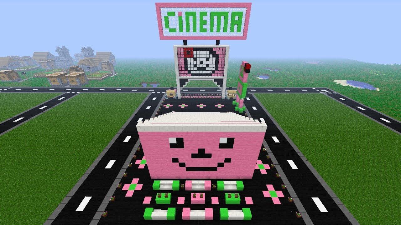 Minecraft hello kitty street cinema youtube - Casa hello kitty ...