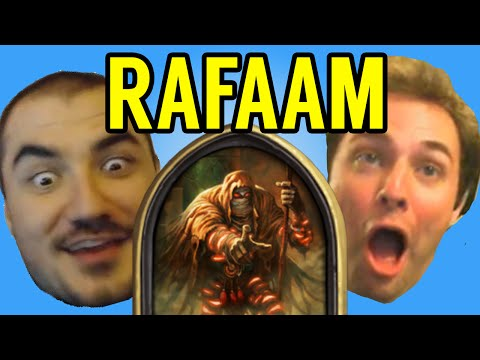 [Hearthstone] STREAMERS REACT TO RAFAAM (ft. Kripparrian, Amaz, Day9, Kibler, Savjz, Forsen)