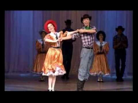 Американский танец Кантри