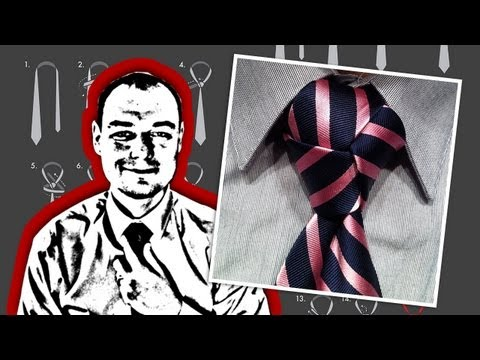 How to Tie a Necktie Trinity Knot